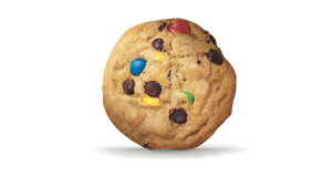Cookie Chocolate Chip Rainbow Candy